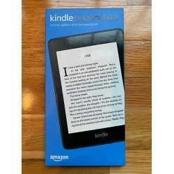 Amazon Kindle Paperwhite E-reader - 10th Generation, 8GB storage and now Waterproof (Twilight Blue)