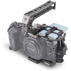 Tilta Camera Cage for Blackmagic Design Pocket Cinema Camera 4K/6K (Basic Kit, Black)