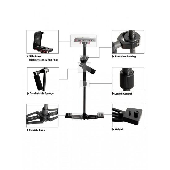 YELANGU S700 Handheld Stabilizer Steadicam for DSLRs