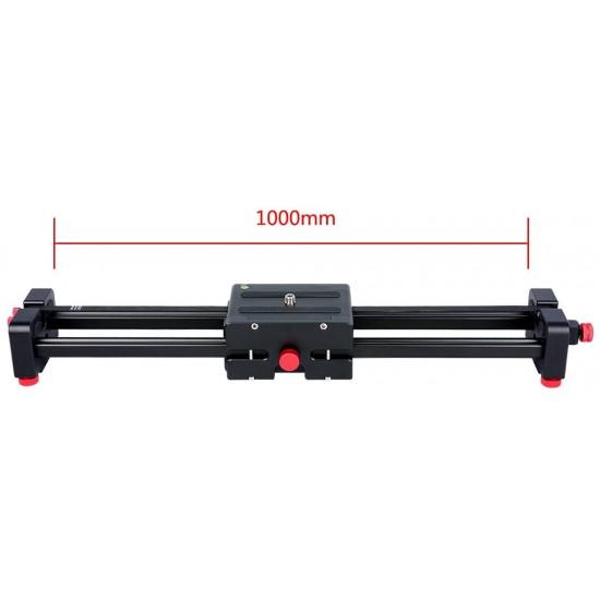 Yelangu L50D Aluminum Alloy Camera Video Slider for DSLRs and Camcorders
