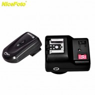 NiceFoto PT-04GY Wireless Flash Trigger for Nikon/Canon/Sony