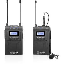 BOYA BY-WM8 Pro-K1 UHF Mono/Stereo Dual-Channel Wireless Lavalier Microphone System