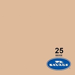 Savage Widetone Seamless Background Paper (#25 Beige)