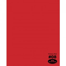Savage Widetone Seamless Background Paper (#08 Primary Red)