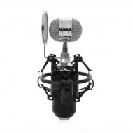 BM-8000 Condenser Sound Recording Microphone with Shock Mount