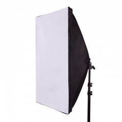 E27 50x70cm Softbox With Lamp Holder Socket and Soft Cloth Diffuser for Studio Photography