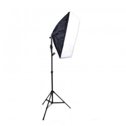E27 Lighting with Stand and Softbox