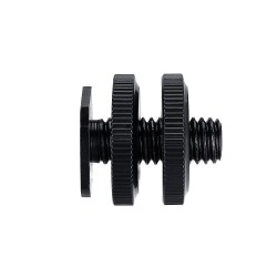 """3/8"""" Male Thread Adapter Screw to Cold Shoe"""