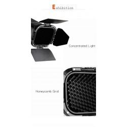 Godox BD-07 Barn door grid and gels set for AD200
