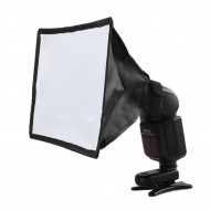 "17x15cm/7""x 6"" Portable Rectangular Mini-Soft Box for speedlites"