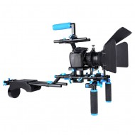 YELANGU D206 Camera Shoulder Rig for DSLRs and DV Cameras