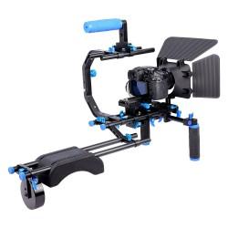 YELANGU D206 Camera Shoulder Rig for DSLRs and DV Cameras