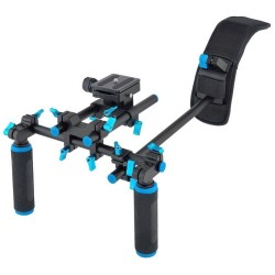 Dual Handles Grip Free Shoulder Mount Kit