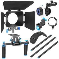 YELANGU D101 DSLR Camera Shoulder Rig Stabilizer Film Support Kit