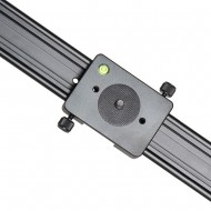 YELANGU L100A Aluminum Alloy Track Slider with Gasket for DSLR/Video Cameras