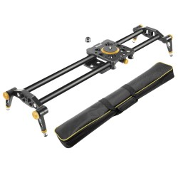Neewer 120cm Carbon Fiber Camera Track Slider Video Stabilizer for DSLRs and Camcorders