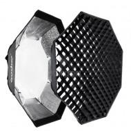Godox 95cm Bowens mount Grid softbox for strobe
