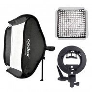 Godox 80 x 80cm Grid speedlite Softbox with S-type bracket