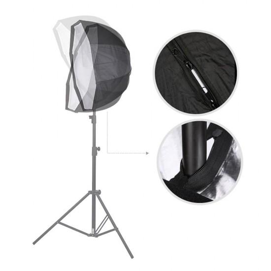 Godox 120cm Grid Umbrella type Octagon softbox for speedlites