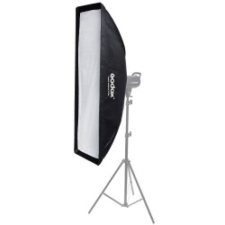 Godox 30x120 cm Bowens Mount Grid Strip softbox for Strobe