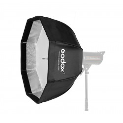 Godox 120cm Quick Open Bowens Mount Softbox with Grid for Strobes