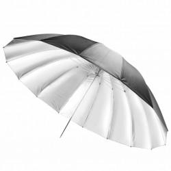 "Jinbei 180cm/72"" Black/Silver Deep Parabolic Umbrella + Diffuser"