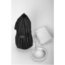 Jinbei BD-60 Foldable Silver Beauty Dish (Umbrella, Bowens Mount)