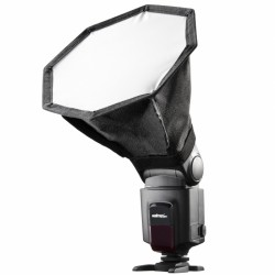 18cm Octagon mini softbox for speedlites
