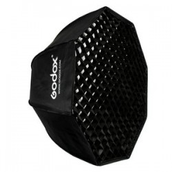 Godox 120cm Grid Umbrella type Octagon softbox for speedlites