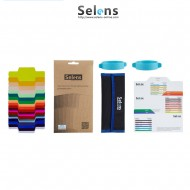 Selens 20 Flash Gels Lighting Filters with Band Grip