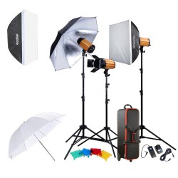 Godox 300SDI-D Smart Photography Studio Flash Kit (3 heads, 900W)