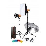 Godox 300SDI-E Smart Studio Kit (2 Heads, 600W)