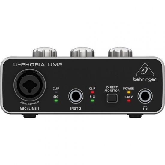 Behringer U-PHORIA UM2 2x2 USB Audio Interface