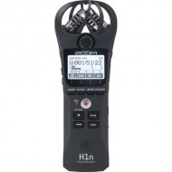 Zoom H1n 2-Input / 2-Track Digital Handy Recorder with Onboard X/Y Microphone (Black)