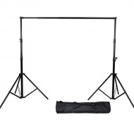 Heavy Duty S-23 Studio Background Support Kit (2.8m x 3.2m)
