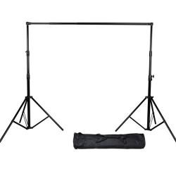 Heavy Duty S-23 Studio Background Support Kit (2.8m x 3.2m)