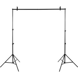2mx3m Background stand with interconnecting Bar