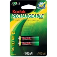 Kodak AAA pre-charged Rechargeable Ni-Mh Batteries (2 Pack)