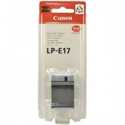 Original Canon LP-E17 OEM Lithium-Ion Battery Pack