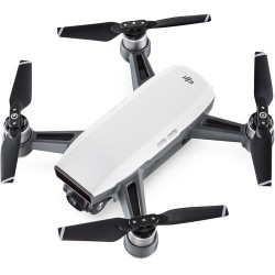 DJI Spark Quadcopter Fly More Combo (Alpine White) Drone