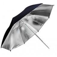 "Godox 33""/84cm Reflective Black & Silver Umbrella"