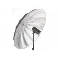 Jinbei 150CM Black/Silver Parabolic Umbrella with Diffuser
