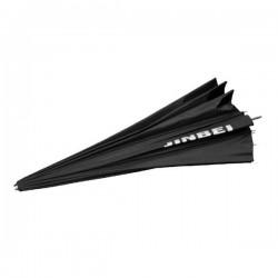 "Jinbei 130cm/51"" Black/White Deep Parabolic Umbrella"