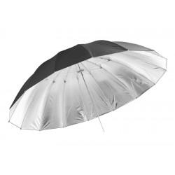 Jinbei 150CM Black/Silver Parabolic Umbrella