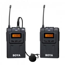 BOYA BY-WM6 UHF Wireless Lavalier Microphone Kit