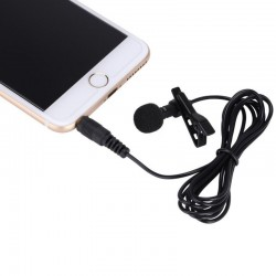 Lavalier Clip on mic for smartphones