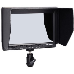 "FeelWorld FW759 7"" IPS HDMI On-Camera Monitor with Sunshade and HDMI Lock"