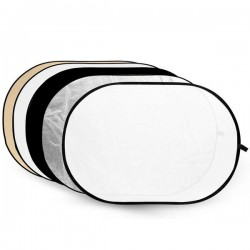 Godox 120cm x 180cm 5 in 1 Photography Reflector with Gold