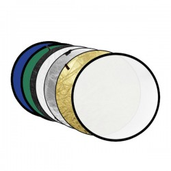 Godox 110cm 7 in 1 Collapsible Reflector Disc (Gold, Silver, Black, White, Translucent, Blue & Green Covers)