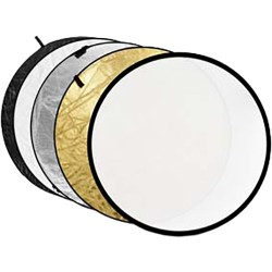 Godox 110cm 5 in 1 Collapsible Reflector Disc (Gold/Silver/Black/White/Translucent)